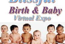 Blissful Birth & Baby Expo / The Blissful Birth & Baby Virtual Expo is a 4-day online event that will feature products and services for pregnancy, birth, and babies. You can attend this Expo from the comfort of your home and at any hour of the day or night by visiting the Expo Sites on different social media platforms: Facebook, Twitter, Pinterest and Youtube. http://intensehighexpos.com/live-expo/