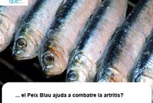 Peix blau / Pescado azul  / Aquí trobaràs curiositats sobre el peix blau / Aquí encontrarás curiosidades sobre el pescado azul
