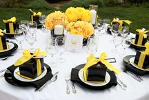 WEDDING - YELLOW BLACK