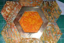 winterse hexagonnen. /