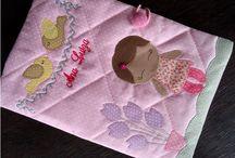 Porta Caderneta de Vacinação / Para organizar os documentos do bebê com praticidade!