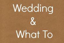 DIY Wedding Advice / DIY wedding advice and tutorials for home made weddings