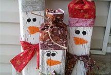 Dobr rady a n pady radynapady on pinterest for Homemade christmas table decorations uk