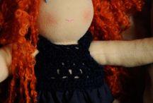 My Waldorf Dolls/Le mie bambole Waldorf / Le mie bambole Waldorf interamente fatte a mano, con cura e con amore, usando esclusivamente materiali naturali