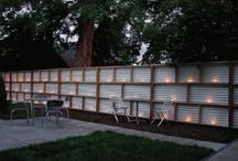 Privacy Fence Ideas / by Kristal Lindsey