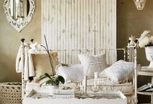 Blanc Chic / Deliciously Neutral, white on white design. / by Butter Beans Antiques