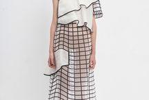 Graphic/linear fashion