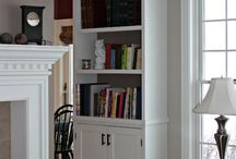 Bookcase built ins / by Suzie @ The Accent Piece