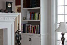 Bookcase built ins / by Suzie @ The Accent Piece