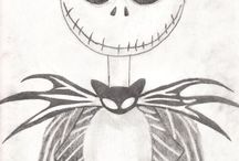 herfst/halloween drawing