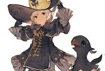 Witch character inspiration