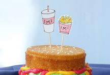 Cake / Always baking cakes for my friends, good ideas for decorating and different flavours