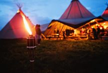 Tipi Delight Wedding! / Tipi's bonfires and fun!  Create a unique wedding making the most of the Great British Outdoors!