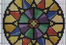 vidrieras y mandalas