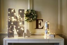 Christmas Decoration Ideas by Sarah Ward Associates / Time to get the house looking its welcoming best. Here's some inspiration I've spotted and wanted to share with you.