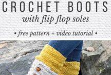 Crotchet boots