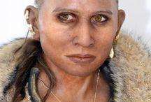 prehistoric faces