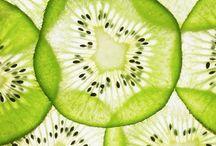 plátky citrusů a kiwi