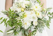 ślub biało-zielony