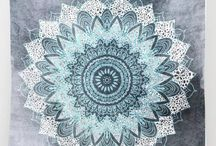 Bohemian / Hippy Tapestries and wall hangings. These tapestries really create a chilled out vibe for your home.