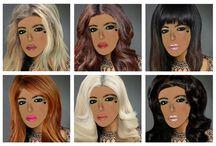 Le favolose dame maquillate / E' arrivata la vostra visagista di fiducia, con i cosmetici francesi di alta qualità!  http://libristellari.webnode.it