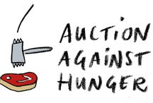 The Action Against Hunger Auction / To support the efforts of 'Auction Against Hunger' we made an interactive pinterest board of all the offers available. For more info. http://www.hot-dinners.com/Features/Articles/the-action-against-hunger-auction