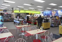 HFA Convenience store projects / Some of the convenience store projects completed by HFA.