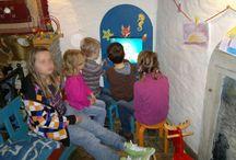 Kącik dla dzieci w restauracji / Interaktywne kąciki dla dzieci. Mądra rozrywka w restauracji i kawiarni dla rodziców z dziećmi