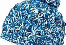 Gorros tejidos a crochet y dos agujas