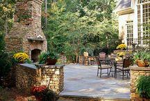 Dream screened-in porch / patio / deck / backyard ideas