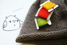 Knitting, sewing etc...