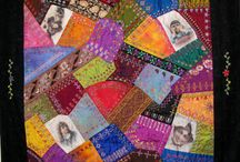 Crazy Quilting by Kerri Murphy / by Taarna T