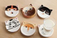cats stuff pottery