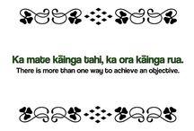 Māori Whakataukī - Māori Proverbs / My favourite proverbs - Iti te kupu, nui te kōrero - Few words means so much.
