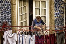 LAUNDRY  and  WASH DAY AROUND THE WORLD and THROUGH THE AGES / A look at laundry methods and locations - including interesting ways of hanging laundry - throughout the world and through the ages....