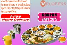 Top Family Restaurant In Gwalior / Now Enjoy #Delicious food  from your favorite Restaurants. with wroofers. Save Upto20% Start Rs@200/ with amazing offers. http://www.wroofers.com/city-food-at-home.php