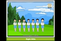One Little Two Little Three Little Indians - Nursery Rhymes with lyrics