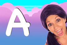 ABC Thumbnails! / These are the thumbnails for my ABC videos! / by Tea Time with Tayla