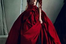 Ceres / Photos of glamour dresses for fiction person - Ceres