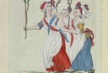 Les Halles, XVIIIe siècle / Iconographie du centre de Paris et plus particulièrement des Halles, du quartier Montorgueil, du Châtelet.