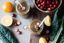 Seasonal Smoothie Recipes / Smoothies that are great for holidays, brunches, parties, and more made with seasonally available fruits and veggies. / by Simple Green Smoothies