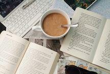 study _ coffee _ rain