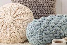 Flat crochet