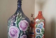artes em garrafas