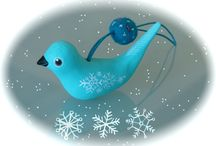 Holidays - Fimo Christmas Ornaments