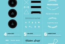 Infographics / Inspirational infographics and how-to's