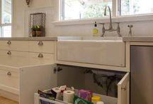 Under sink storage