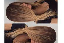 ombrée hair