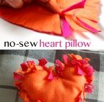No sew heart from felt.
