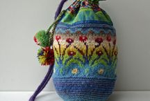 Вязаные сумки [crochet & knitting bags]